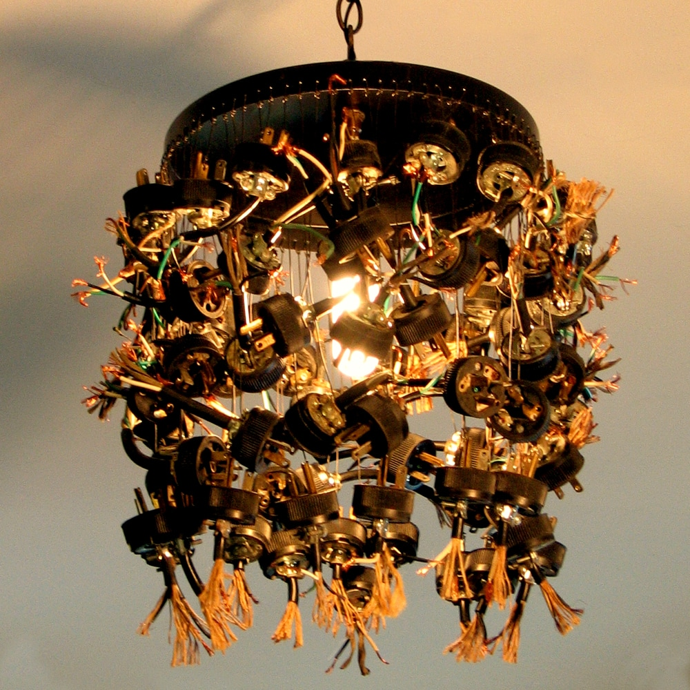 recycled hanging ceiling lights