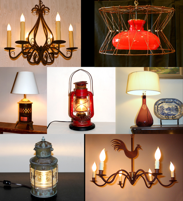 Custom Lamps And Custom Lighting Near Rockland Maine