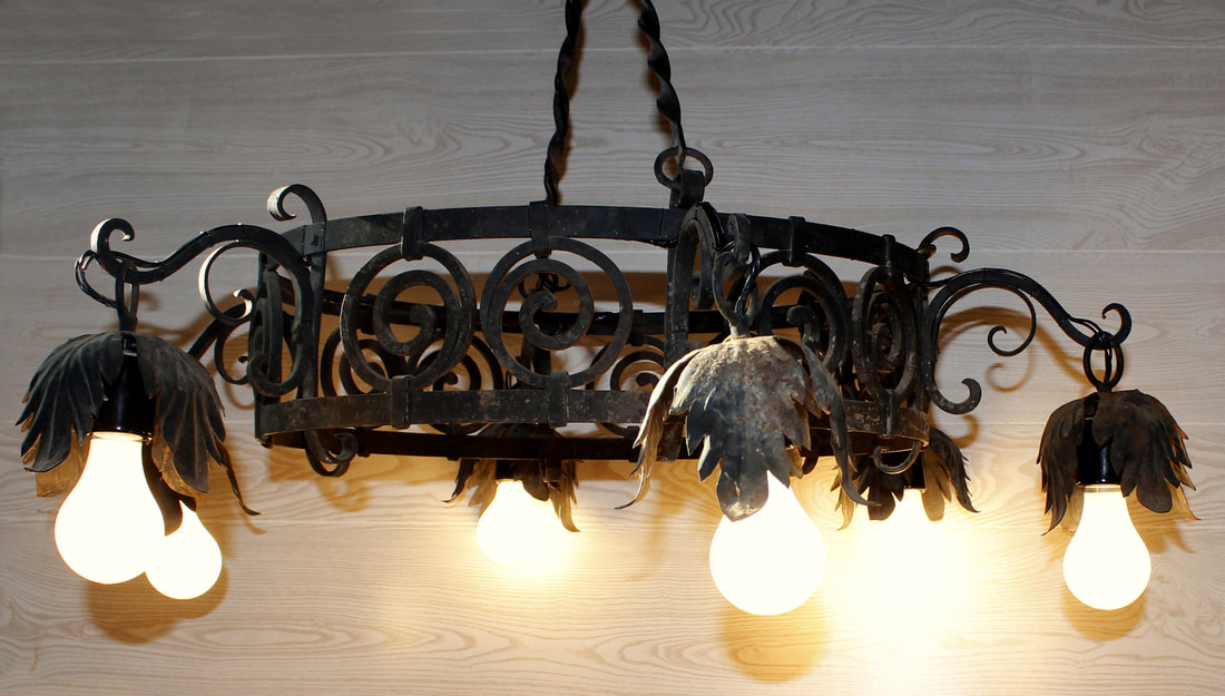 Lamp repair and lamp restoration near rockland maine rewired chandelier aloadofball Images