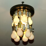 Recycled Ceiling Light