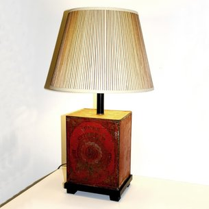 Tin Canister Lamp