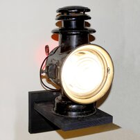 Custom Wired Union Driving Lamp Manufactured by Dietz